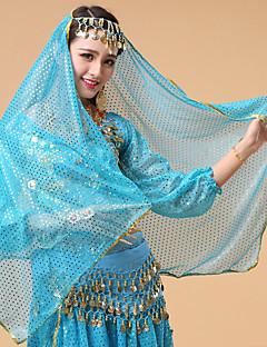ベリーダンス ベール 女性用 演出 チュール 1個 ベール ヘッドピース