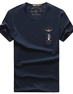 남성용 하이킹 T-셔츠 통기성 티셔츠 탑스 용 캠핑 & 하이킹 여름 L XL XXL XXXL XXXXL