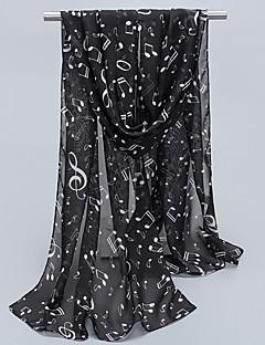 Naiset Neliskulmainen,Painettu Kaikki vuodenajat Sifonki