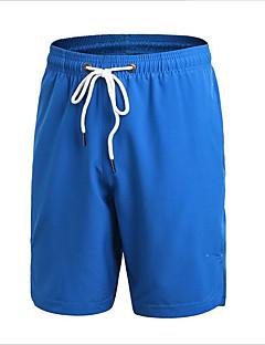 billige Løbetøj-Herre Løbeshorts - Rød, Grå, Gul Sport Ensfarvet Shorts Sportstøj Fitness, Løb & Yoga, Hurtigtørrende, Udendørs Uelastisk