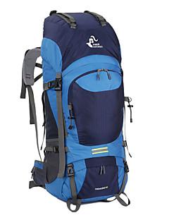 billiga Ryggsäckar och väskor-60 L Ryggsäckar / Ryggsäck - Multifunktionell Utomhus Camping Nylon Svart, Rubinrött, Marinblå