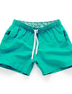 billige Herre Mode Beklædning-Herre Aktiv Shorts Afslappet Bukser Ensfarvet