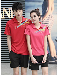 Damen Unisex T-Shirt für Wanderer Kleidungs-Sets für Camping & Wandern Golfspiel Sommer M L
