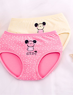 billige Undertøj og sokker til piger-Pige Tegneserie Trykt mønster Bomuld Undertøj og strømper