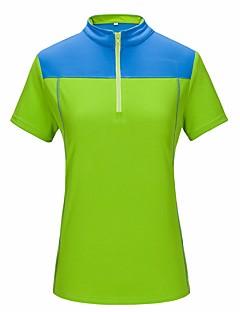 Herrn Damen T-Shirt für Wanderer Rasche Trocknung UV-resistant Atmungsaktiv Kompressionskleidung für Camping & Wandern Radsport/Fahhrad