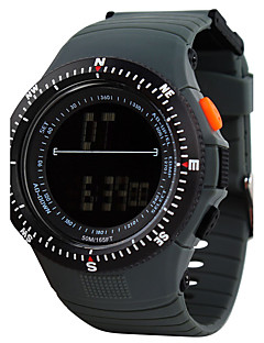 billige Luksus Ure-Herre Quartz Digital Digital Watch Armbåndsur Smartur Militærur Skeletur Sportsur Kinesisk Alarm Kalender Kronograf Vandafvisende Stor