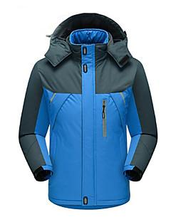 Herrn Damen Wanderjacke warm halten Wasserdicht Windundurchlässig Wasserdicht für Skifahren Eislaufen Winter XXL XXXL M-L 4XL 5XL