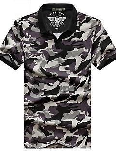tanie Koszulki turystyczne-Męskie T-shirt turystyczny Na wolnym powietrzu Oddychający T-shirt / Topy Kemping i turystyka / Elastyczny