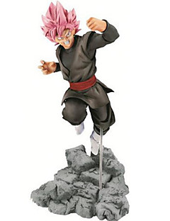 billige Anime cosplay-Anime Action Figurer Inspirert av Dragon Ball Goku PVC 11 CM Modell Leker Dukke