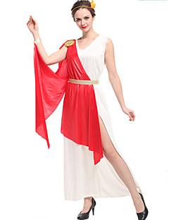 billige Halloweenkostymer-Eventyr Romerske Kostymer Cosplay Cosplay Kostumer Party-kostyme Dame Halloween Karneval Festival / høytid Halloween-kostymer Vintage