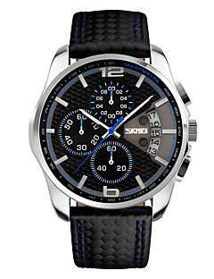 billige Modeure-Herre Quartz Digital Digital Watch Armbåndsur Smartur Militærur Skeletur Sportsur Kinesisk Alarm Kalender Kronograf Vandafvisende Stor