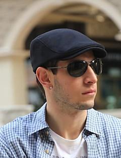 Erwachsene Kopfbedeckung Ganzjährig Baumwoll-Chambray Fischerhut,Solide Reine Farbe Schwarz Grau