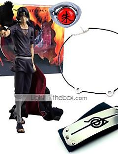billige Anime cosplay-Anime Action Figurer Inspirert av Naruto Itachi Uchiha PVC 23 CM Modell Leker Dukke