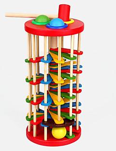 Χαμηλού Κόστους Παιχνίδι για Μωρό & Νήπιο-Σφυρηλάτηση / Λίγος παιχνίδι Μπάλες Σετ πίστες για μπίλιες Παιχνίδι για Μωρό & Νήπιο Εκπαιδευτικό παιχνίδι Ξύλο Παιδικά Δώρο 1pcs