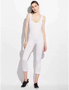 billige Jumpsuits og sparkebukser til damer-Dame Kjeledresser - Helfarge U-hals