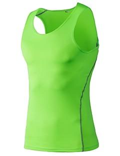 billiga Träning-, jogging- och yogakläder-Herr Linne för jogging - Purpur, Ljusröd, Frukt grön sporter Linne / Överdelar Sportkläder Fitness, Löpning & Yoga, Snabb tork, Sport