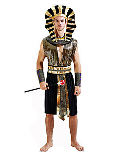 Fairytale Roman Costumes Egyptian Costumes Cosplay Pharaoh Cosplay Costumes Party Costume Masquerade Male Festival / Holiday Halloween