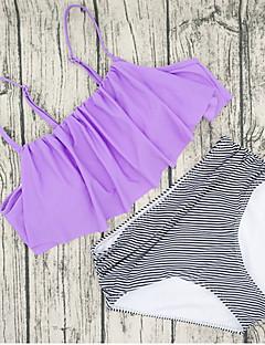 billige Bikinier og damemote 2017-Dame Bikini Bukse Fargeblokk