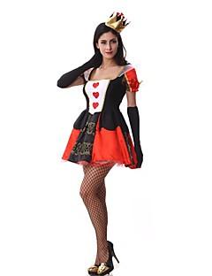 billige Voksenkostymer-Prinsesse Eventyr Cosplay Kostumer Maskerade Kvinnelig Halloween Karneval Festival/høytid Halloween-kostymer Vintage