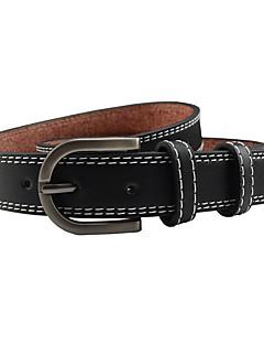 billige Trendy belter-Dame Dress Belt Bredt belte Ensfarget Legering / PU