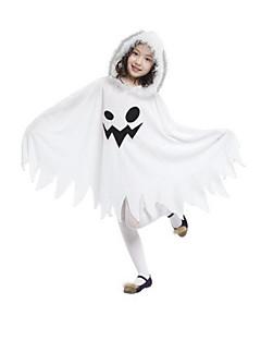 billige Halloweenkostymer-Spøkelse Cosplay Kjoler Cosplay Kostumer Halloween Utstyr Jente Barne Halloween Karneval Festival / høytid Drakter Vintage
