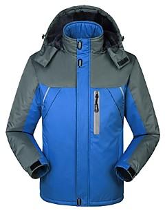 tanie Odzież turystyczna-Męskie Bunda na turistiku Na wolnym powietrzu Zima Wiatroodporna Rain-Proof Zdatny do noszenia Oddychalność Kurtka zimowa Topy Odkryty