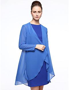 여성 숄 코트 / 재킷 쉬폰 결혼식 파티/이브닝