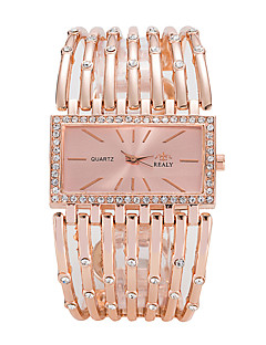 baratos -Mulheres Relógio de Moda Relógio de Pulso Quartzo Lega Banda Luxo Casual Elegant Legal Prata Dourada Ouro Rose