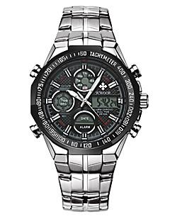 billige Børneure-Herre Quartz Digital Watch / Armbåndsur / Militærur / Sportsur Japansk Alarm / Kalender / Vandafvisende / Kreativ / Stor urskive / Punk /