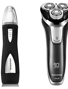 FLYCO FS378 Electric Shaver Razor Nose Device 100240V Washable Quick Charge