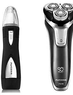 flyco fs378 dispositivo de barbear de barbear elétrico 100240v carga rápida lavável