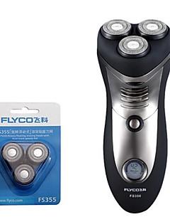 flyco fs356 elektrisk barbermaskin razor reservehodet 100240v rask lading