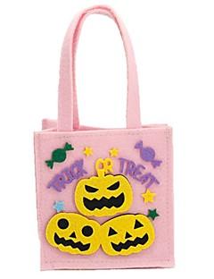 billige Halloweenkostymer-Spøkelse Monstere Gresskar Bagger og vesker Halloween Festival / høytid Halloween-kostymer Rosa Mote