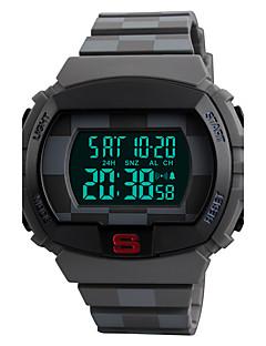 billige Luksus Ure-SKMEI Herre Digital Digital Watch / Armbåndsur / Sportsur Japansk Alarm / Kalender / Kronograf / Vandafvisende / Kreativ / Stor urskive /