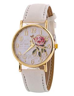 Недорогие -Жен. Наручные часы Cool / Повседневные часы Кожа Группа Кулоны / На каждый день / Elegant Черный / Белый / Коричневый