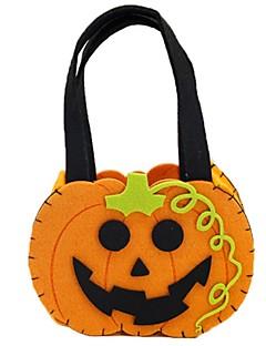 billige Halloweenkostymer-Gresskar Bagger og vesker Halloween Festival / høytid Halloween-kostymer Oransje Mote
