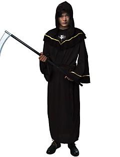 Trollmann/heks Vampyrer Drakter Mann Festival/høytid Halloween-kostymer Brun Svart Halloween Jul Lapper