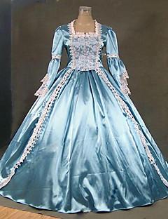 Cinderella Gudinne Nisse drakter Vampyrer Cosplay Kostumer Halloween Jul Karneval Nytt År Festival/høytid Halloween-kostymer Blå Helfarve