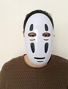 billige Anime cosplay-Maske Inspirert av Spirited Away Cosplay Anime Cosplay-tilbehør Maske Plast Herre Dame