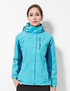 tanie Odzież turystyczna-LEIBINDI Damskie Kurtki 3 w 1 Na wolnym powietrzu Zima Quick Dry Wiatroodporna Rain-Proof Rozciągliwe Topy Pojedyncze Slider Water Proof