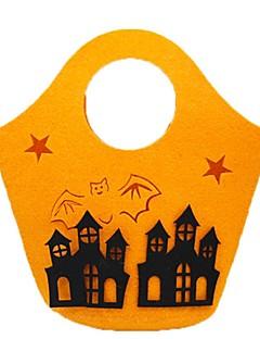 Spøkelse Monstere Gresskar Bagger og vesker Halloween Festival/høytid Halloween-kostymer Oransje Mote