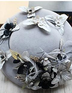 Γυναικείο Μονόχρωμο,Καπέλο Παραδοσιακό/Πεπαλαιωμένο Κομψό & Μοντέρνο Κομψό & Πολυτελές Καπέλα Φανέλα Άνοιξη/Χειμώνας Χειμώνας,Τύπου bucket
