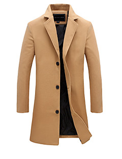 Men's Casual/Daily Casual Winter Fall Jacket