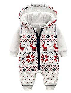 Baby Einzelteil Modisch Geometrisch Baumwolle Herbst Winter