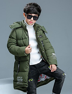 Boys' Others Down & Cotton Padded Winter Green Black