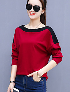 Women's Plus Size Daily Street chic Fall Winter T-shirt