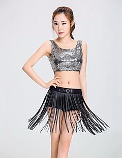 skal vi cheerleader kostymer antrekk kvinners ytelse polyester dusk (er) ermeløs droppet topper bukser