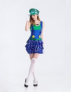 Eventyr Kostymer til heiajenter Cosplay Kostumer Maskerade Kvinnelig Halloween Jul Karneval Nytt År Oktoberfest Festival/høytid