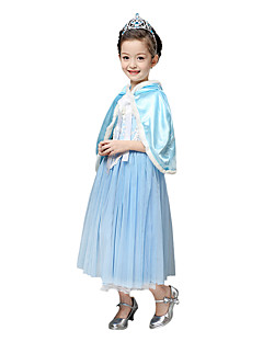 cheap Kids Halloween Costumes-Princess Fairytale Elsa Cosplay Costume Party Costume Children's Christmas Halloween Carnival New Year Children's Day Festival / Holiday