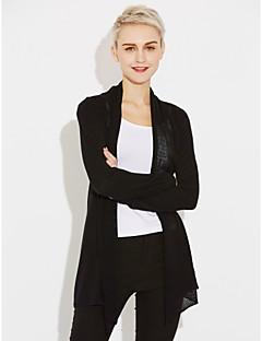 cheap Women's Sweaters-Women's Long Sleeves Cardigan - Solid